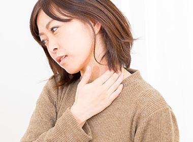 首肩の症状(コリ・痛み・痺れ)